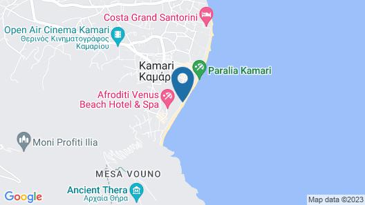 RK Beach Hotel Map