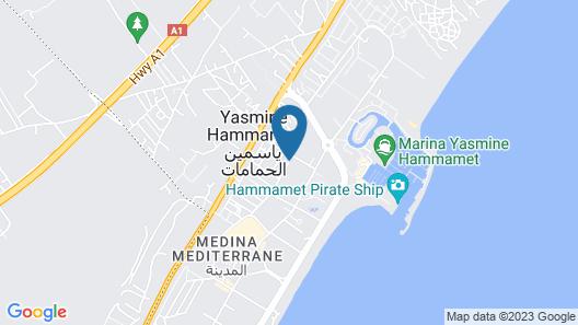 Shell Beach Hotel & Spa Map
