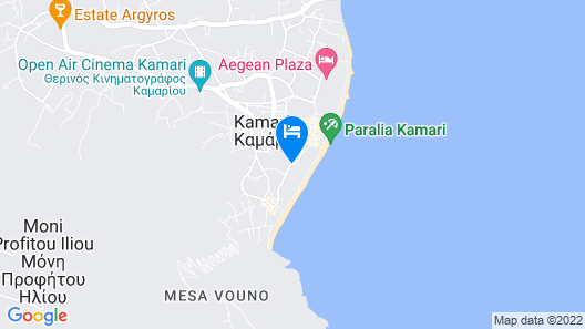 Santorini Kastelli Resort Map