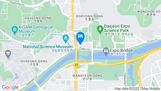 Hotel Onoma Daejeon, Autograph Collection Map