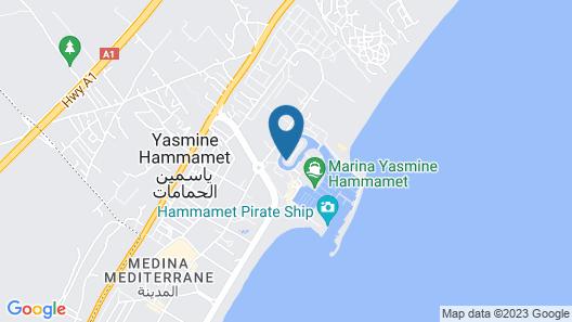 Villa Marina Map