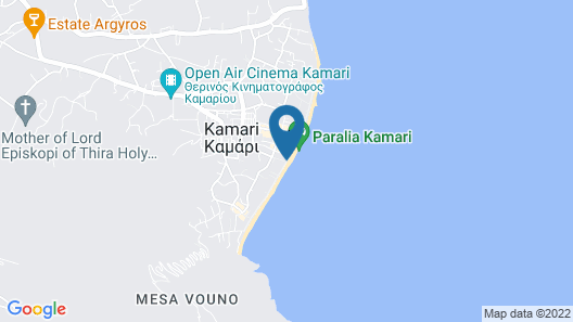 Makris Beach Hotel Map