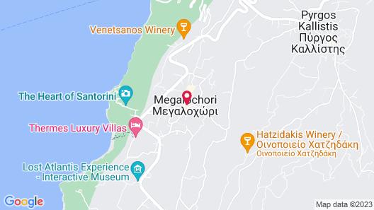 Mesanto Luxury Suites Map