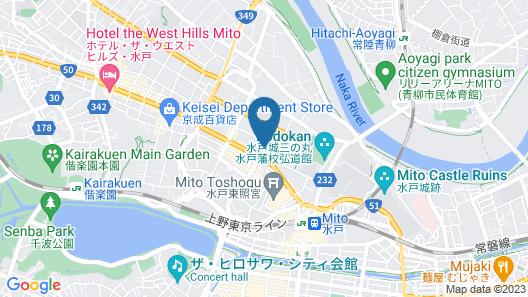 APA Hotel Mitoeki-kita Map