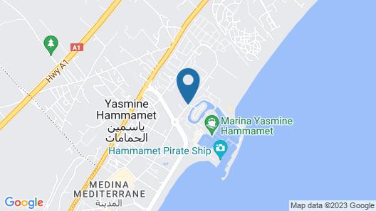 Hotel Marina Palace Map