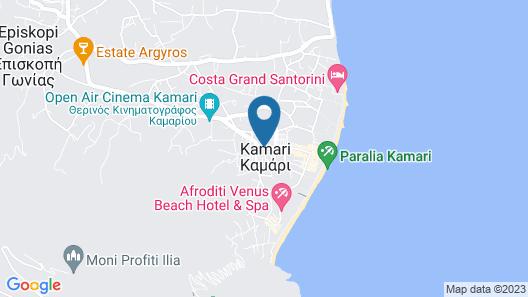 Terra Blue Santorini Map