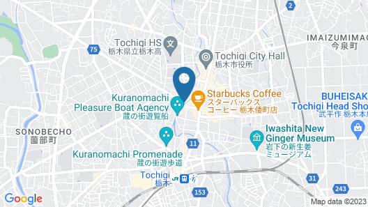 Guest House Kuranomachi - Hostel Map