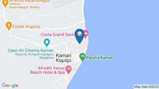 Aegean Plaza Hotel Map