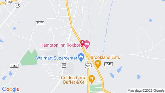 Quality Inn - Roxboro South Map