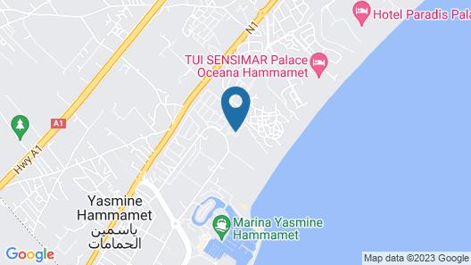 Le Royal Hotels & Resorts - Hammamet Map