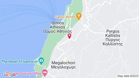 Alti Santorini Suites Map