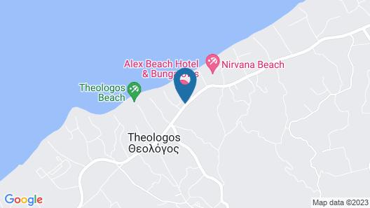 Alex Beach Hotel - Bungalows - All Inclusive Map