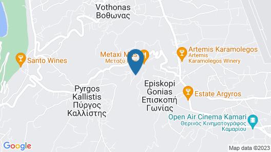 Eolia Luxury Villas Map