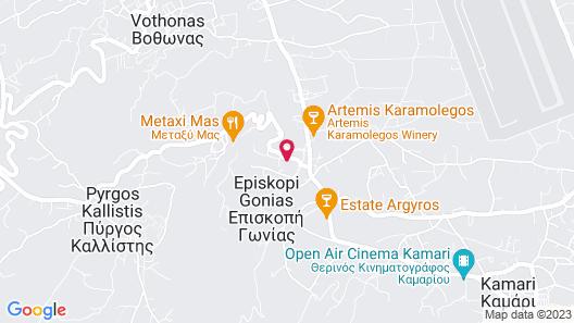 Casa d'Argento Map