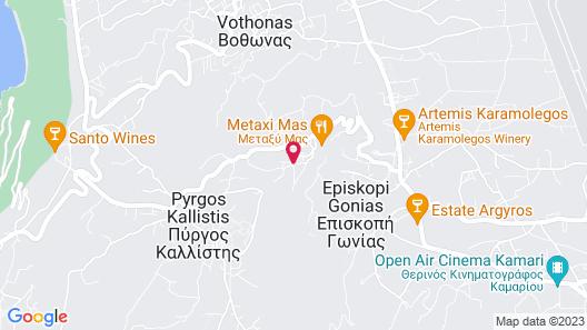 Semeli Cave House Map