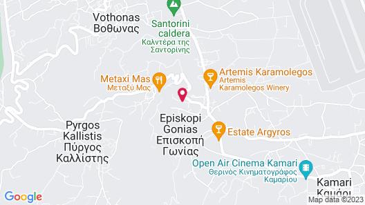 Afoura Houses by K&K - Blue House Map
