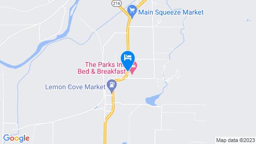 Plantation Bed & Breakfast Map