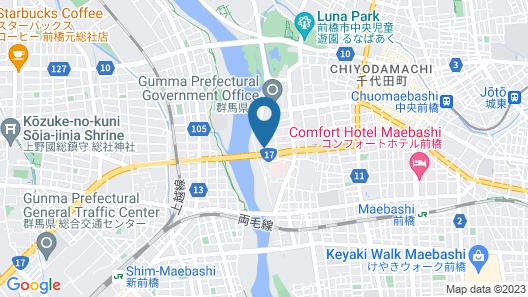 GUNMA ROYAL HOTEL Map