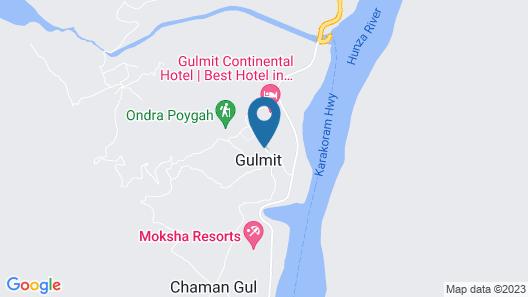 Gulmit Continental Hotel Map