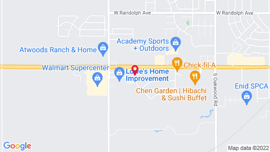 Country Inn & Suites by Radisson, Enid, OK Map