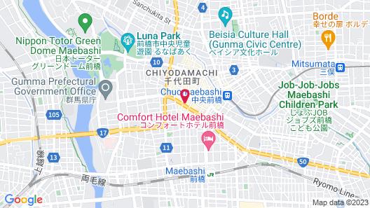Shiroiya Hotel Map