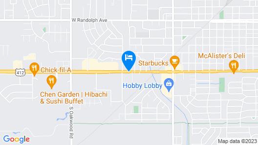 Super 8 by Wyndham Enid Map