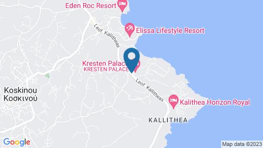 Kresten Palace Hotel Map