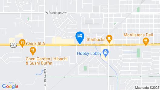 Ramada by Wyndham Enid Map