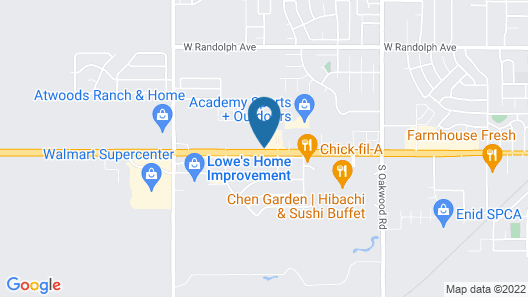 Holiday Inn Express Hotel & Suites Enid - Highway 412, an IHG Hotel Map