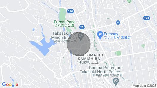Kiyomizu House: Dream Vacation by Onsen, Kyoto-style Garden, Mt Haruna & Ikaho Map