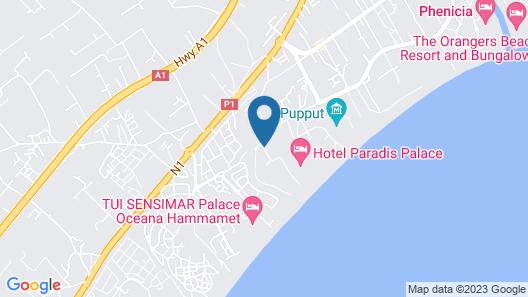 Hotel Menara Map