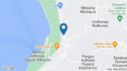 Villa Irini Fira Adults Only Map