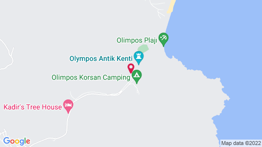 Bayrams Tree Houses Map