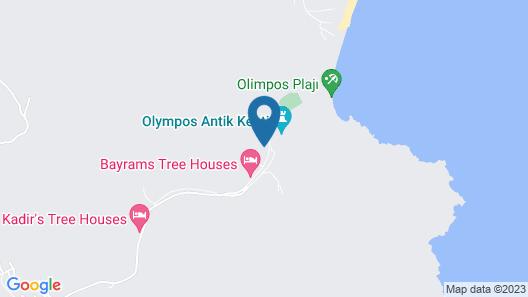 Olympos Tatilya Pansiyon Map