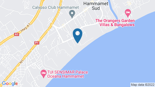Hôtel Samira Club (Family and Couples Only) Map