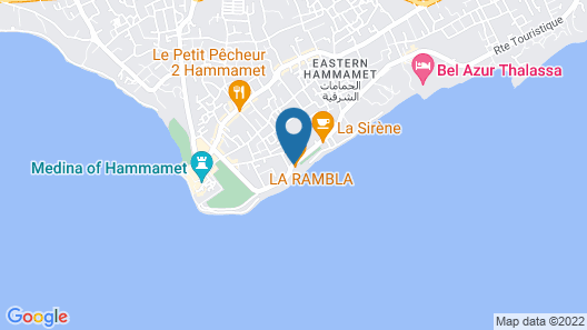 Hotel Residence Romane Map