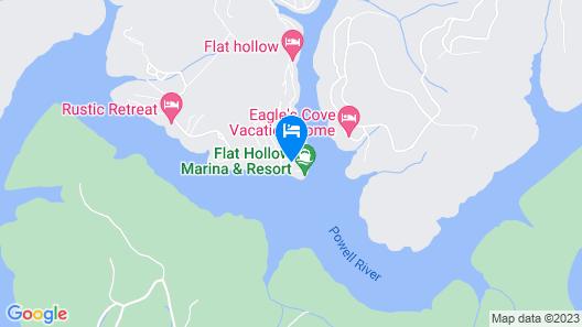 Moondog Cottage On Norris Lake Map