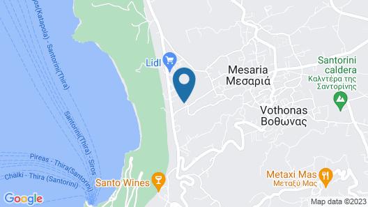 Apeiron Blue Santorini Map
