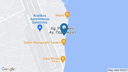 Okeanis Beach Map
