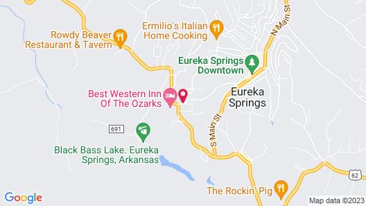 Log Cabin Inn Map