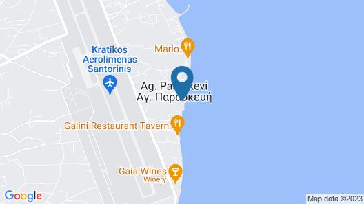 Nikki Beach Resort & Spa Santorini Map