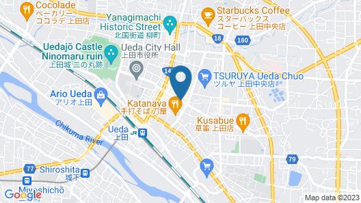 Sai no tsuno Guesthouse - Hostel Map