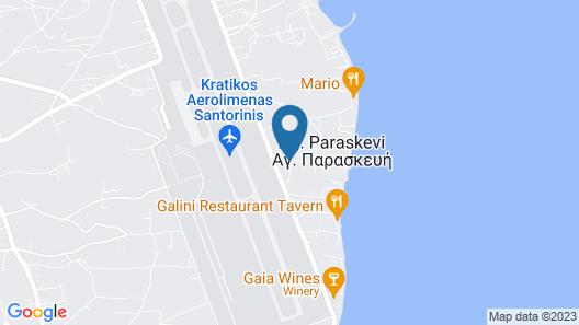 Cafe Greco Studios & Apartments Map