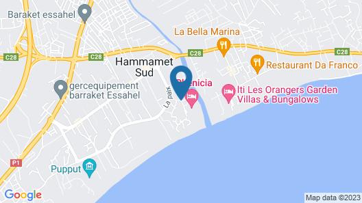 Hotel Phenicia Hammamet Map