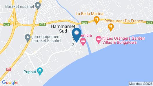 Steigenberger marhaba thalasso Map