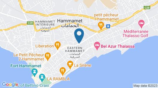 Hotel Bel Horizon Map