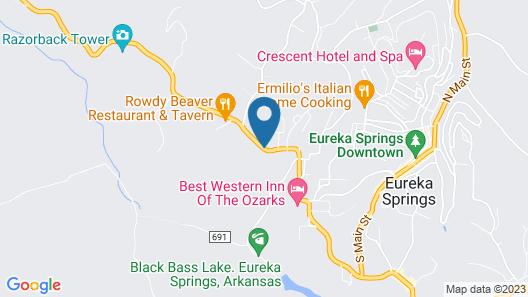 Bavarian Inn Lodge & Restaurant Map