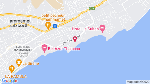 Radisson Blu Resort & Thalasso, Hammamet Map