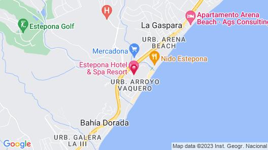 Estepona Hotel & Spa Resort Map