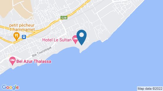 La Badira - Adults Only Map